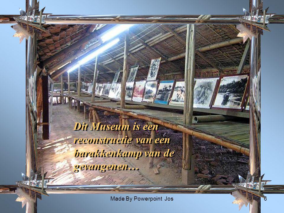 Dit Museum is een reconstructie van een barakkenkamp van de gevangenen…