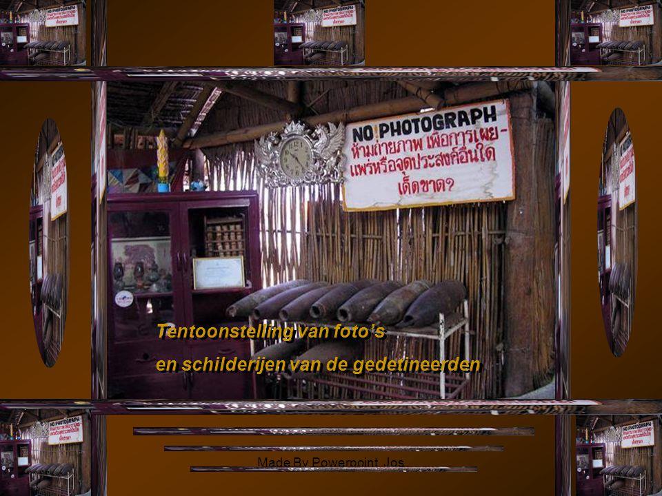 Tentoonstelling van foto's en schilderijen van de gedetineerden