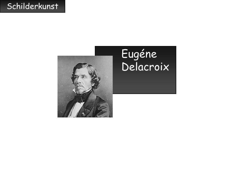 Schilderkunst Eugéne Delacroix