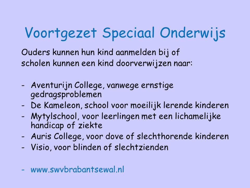 Voortgezet Speciaal Onderwijs