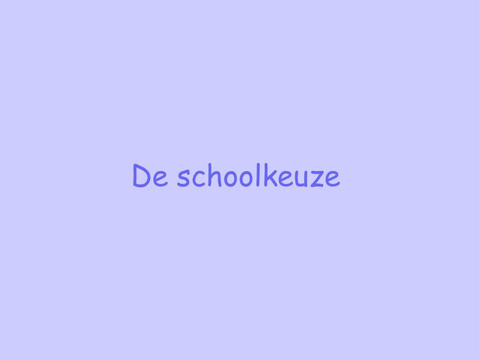 De schoolkeuze