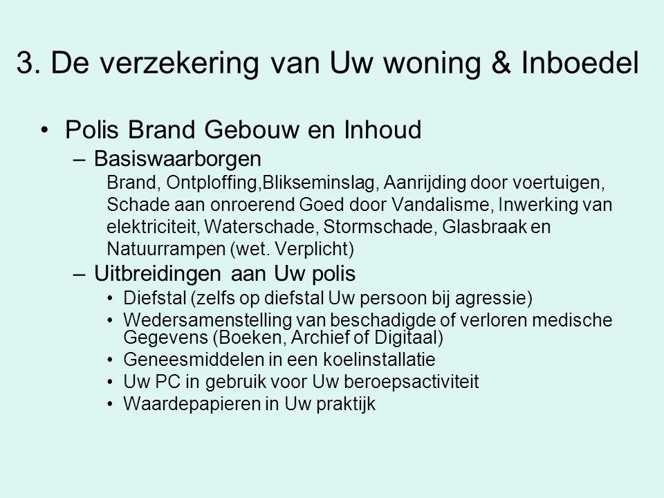 3. De verzekering van Uw woning & Inboedel
