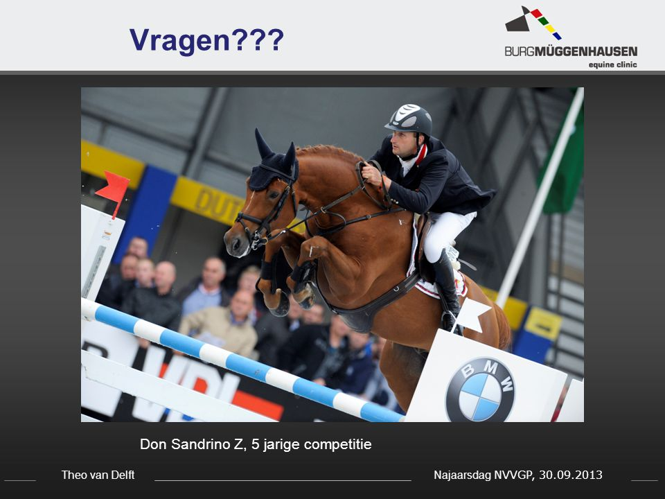 Vragen Don Sandrino Z, 5 jarige competitie