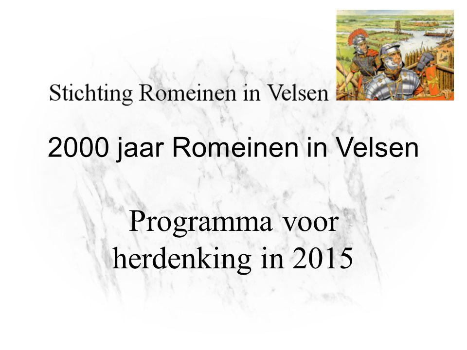 2000 jaar Romeinen in Velsen