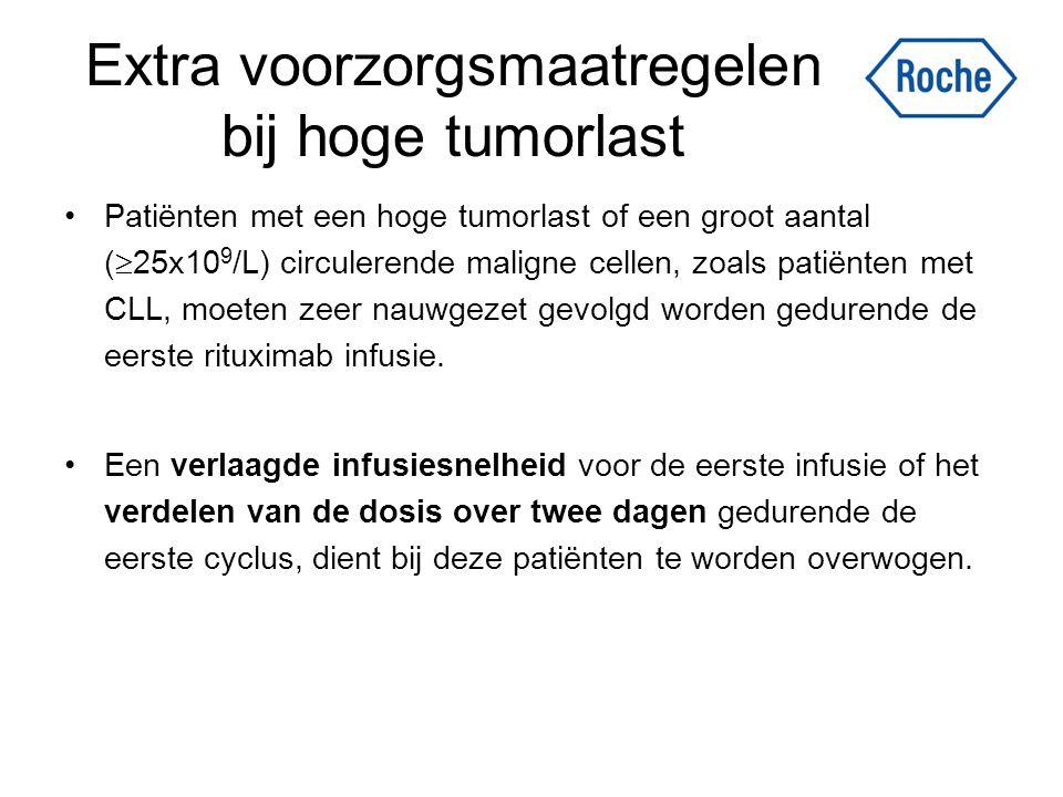 Extra voorzorgsmaatregelen bij hoge tumorlast