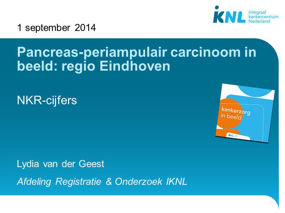 Pancreas-periampulair carcinoom in beeld: regio Eindhoven