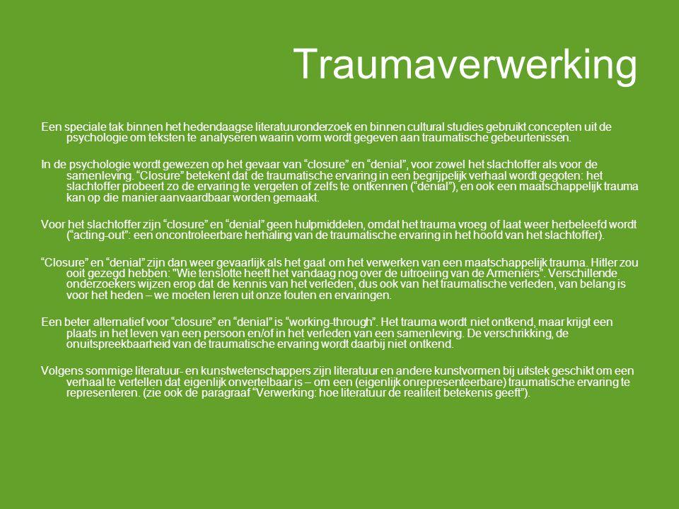 Traumaverwerking