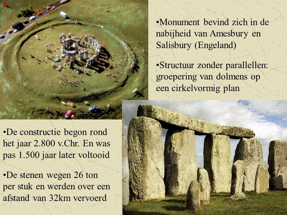 Monument bevind zich in de nabijheid van Amesbury en Salisbury (Engeland)