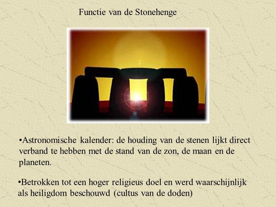 Functie van de Stonehenge