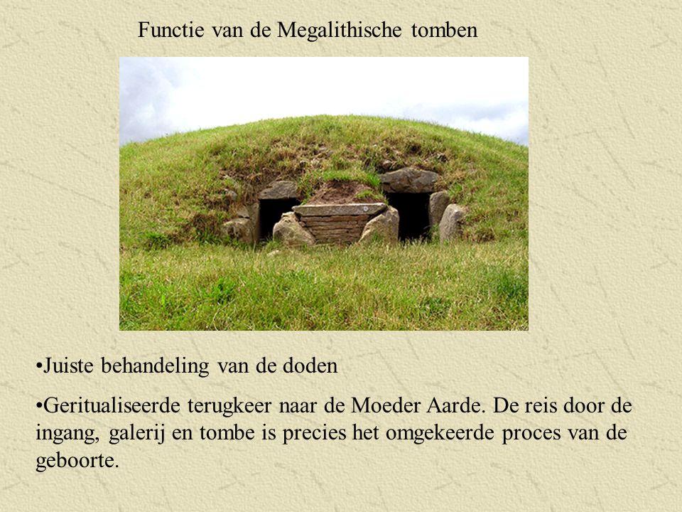 Functie van de Megalithische tomben
