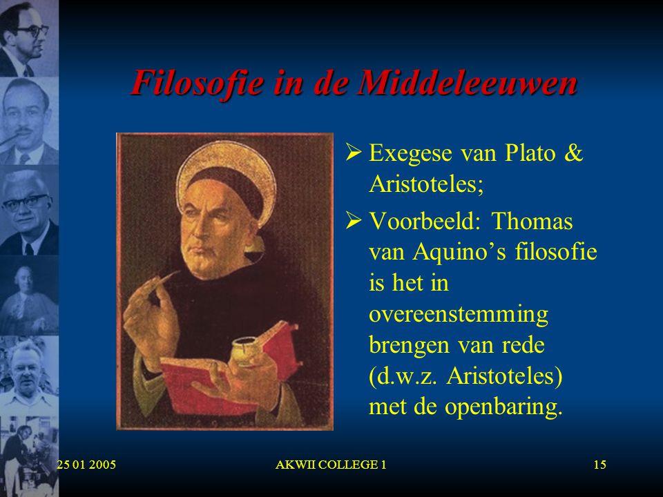 Filosofie in de Middeleeuwen