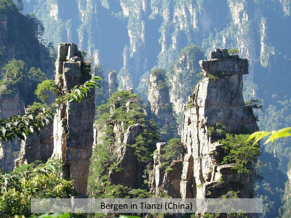 Bergen in Tianzi (China)