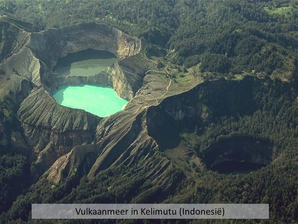 Vulkaanmeer in Kelimutu (Indonesië)