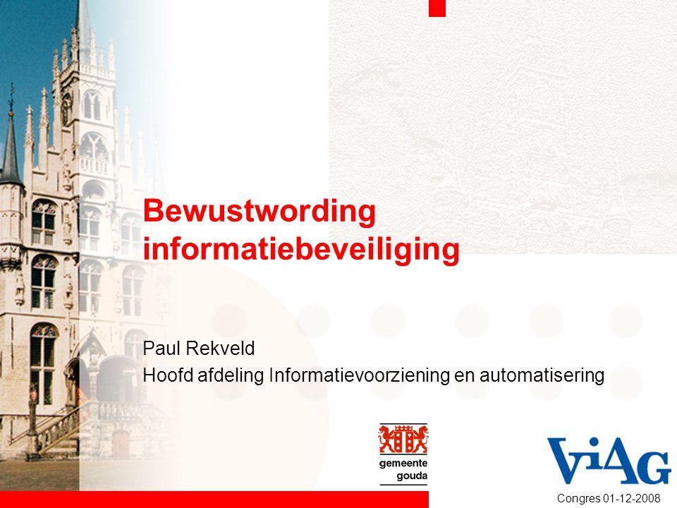 Bewustwording informatiebeveiliging