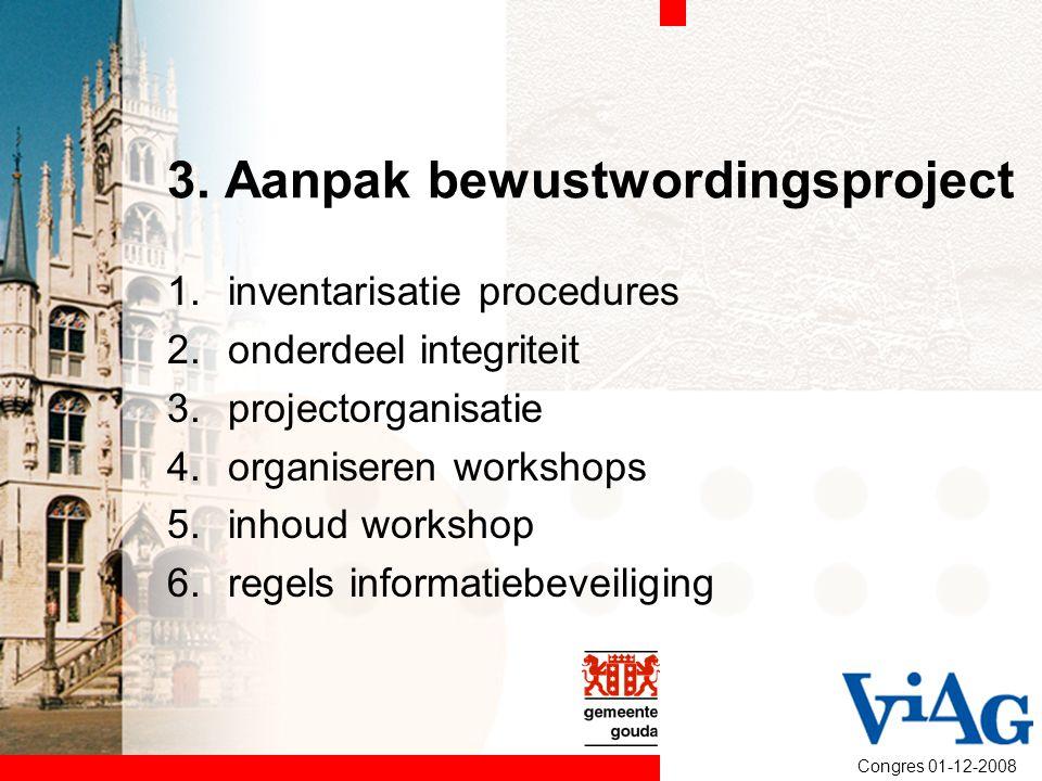 3. Aanpak bewustwordingsproject