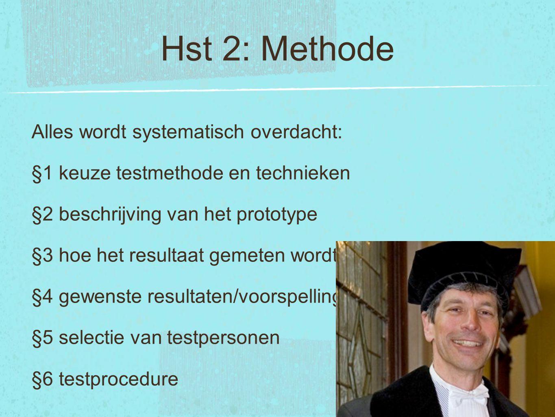 Hst 2: Methode