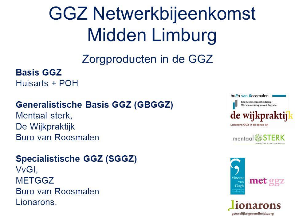 GGZ Netwerkbijeenkomst Midden Limburg