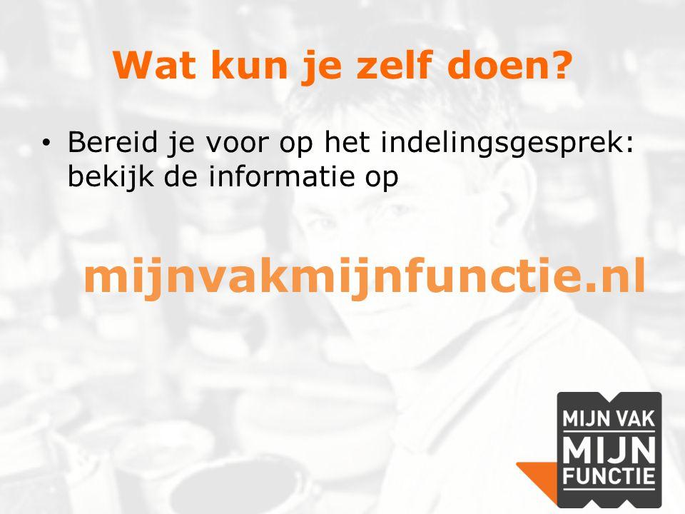 Wat kun je zelf doen mijnvakmijnfunctie.nl
