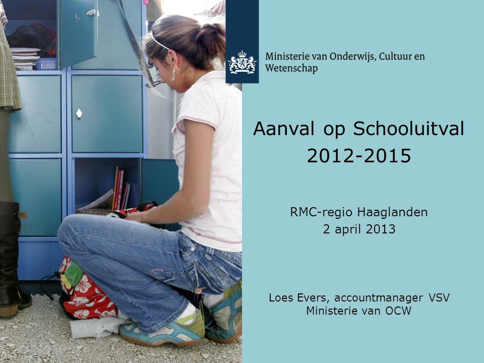 Aanval op Schooluitval 2012-2015
