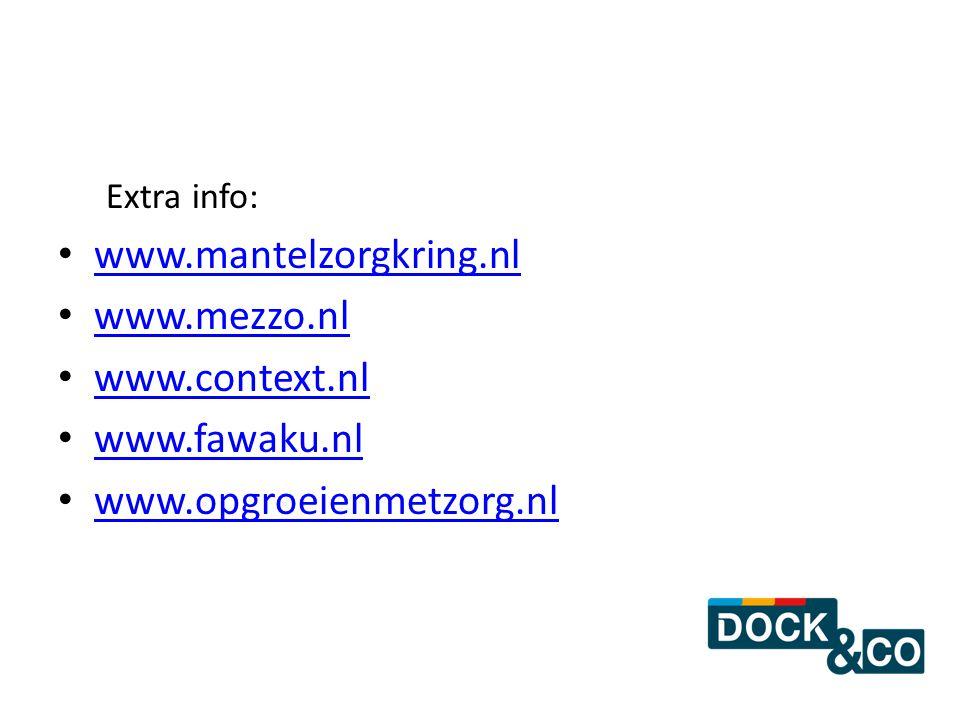www.mantelzorgkring.nl www.mezzo.nl www.context.nl www.fawaku.nl