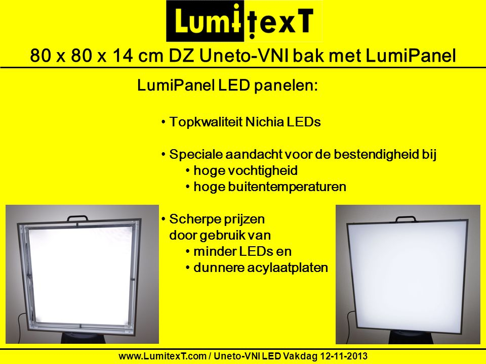 Order form for LumitexT demo Letters