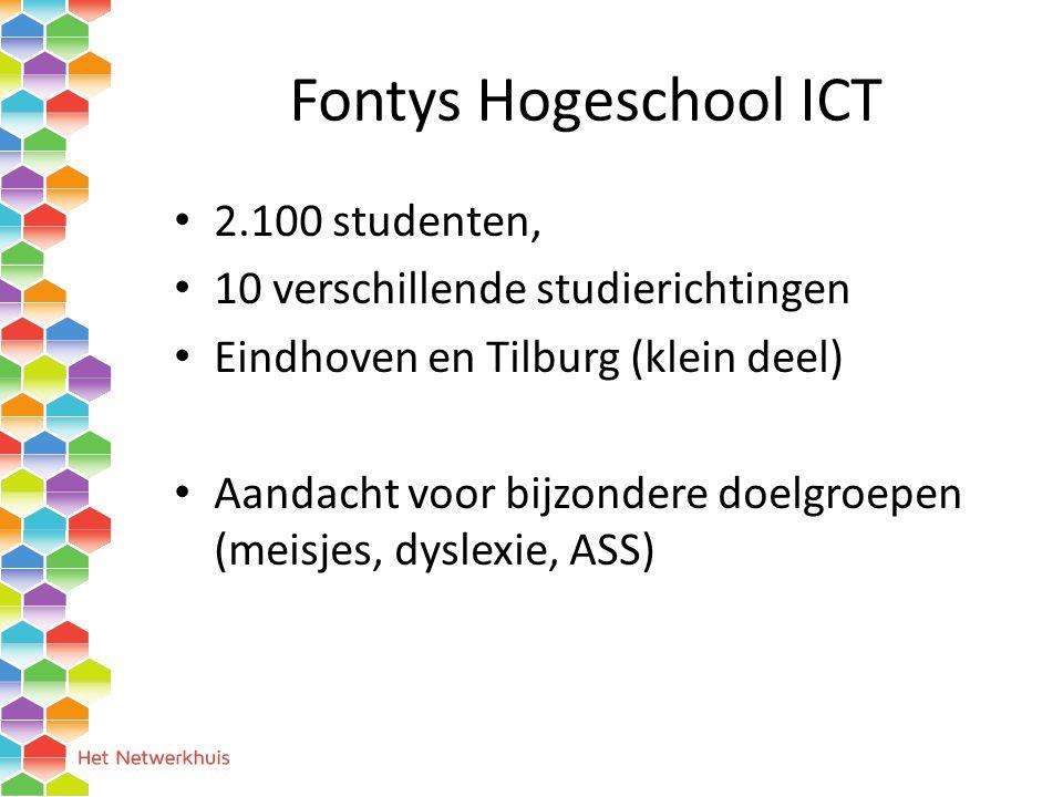 Fontys Hogeschool ICT 2.100 studenten,