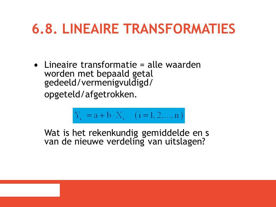 6.8. Lineaire transformaties