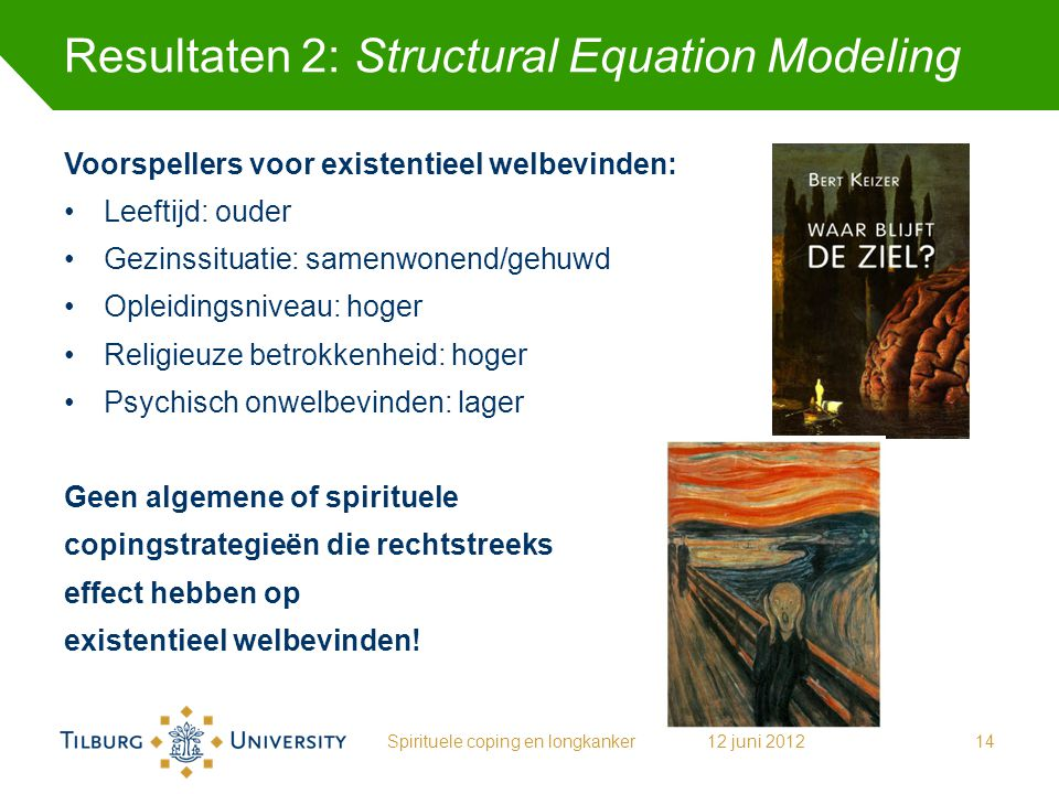 Resultaten 2: Structural Equation Modeling