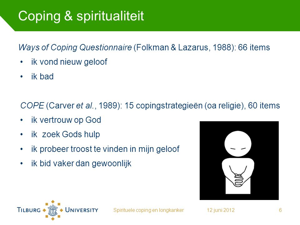 Coping & spiritualiteit