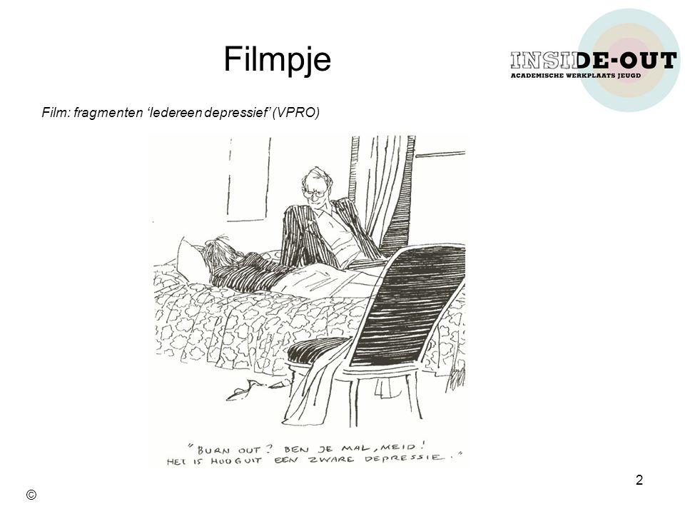 Filmpje Film: fragmenten 'Iedereen depressief' (VPRO) 2 ©