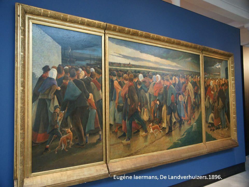 Eugéne laermans, De Landverhuizers.1896.
