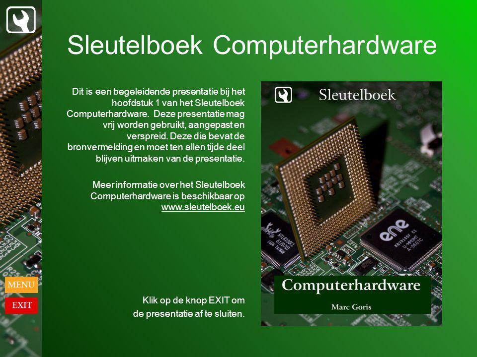 Sleutelboek Computerhardware