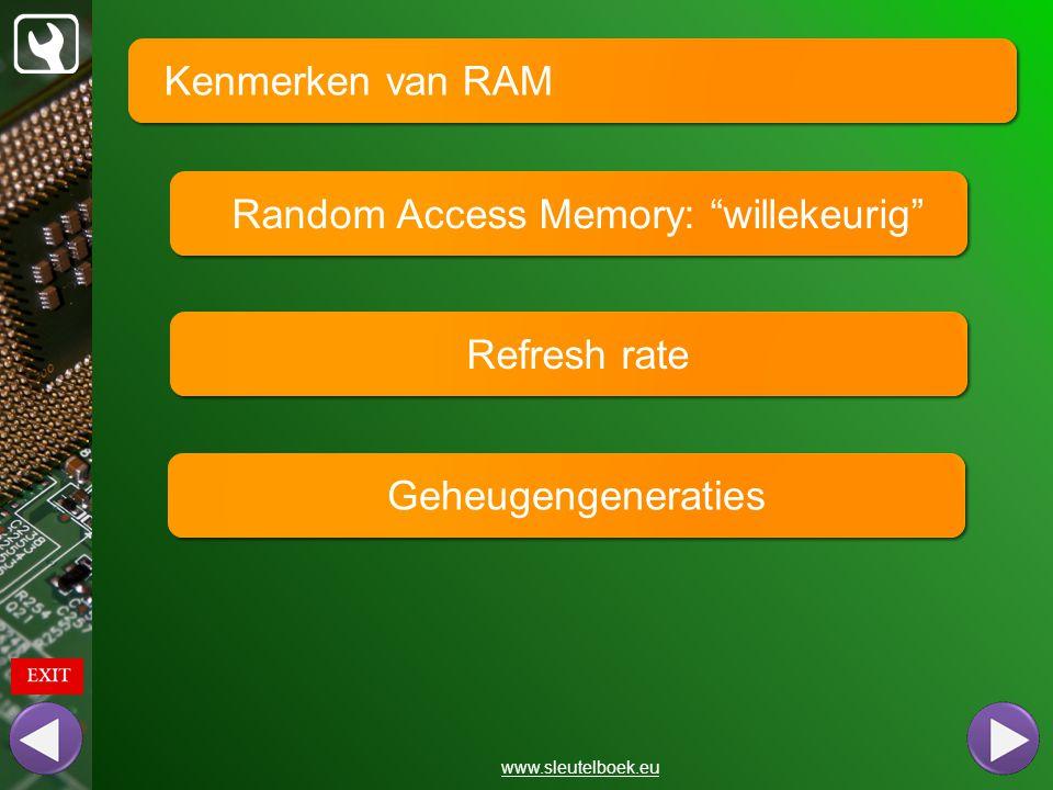 Random Access Memory: willekeurig