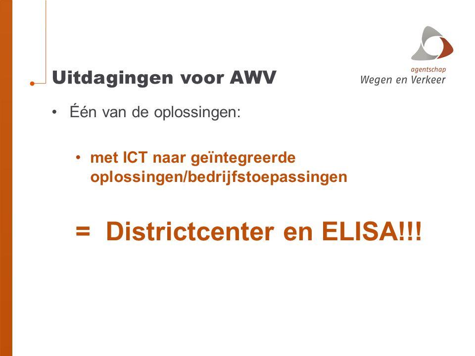 = Districtcenter en ELISA!!!