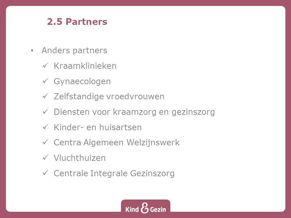 2.5 Partners Anders partners Kraamklinieken Gynaecologen