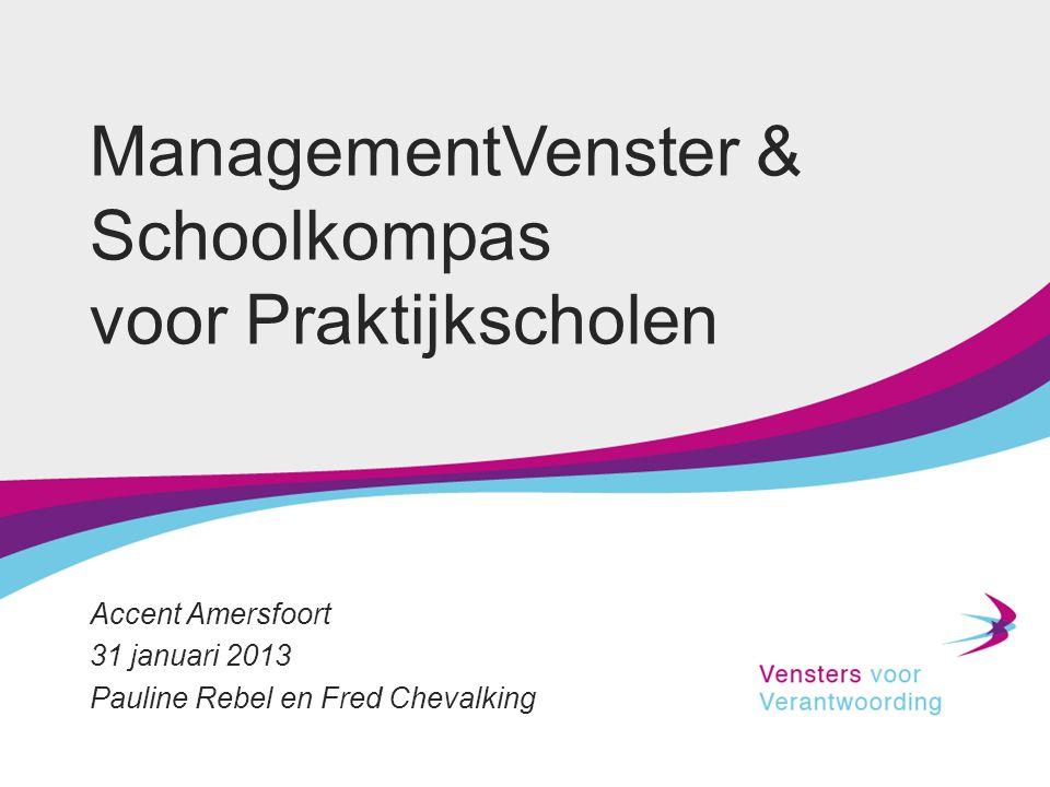 ManagementVenster & Schoolkompas voor Praktijkscholen