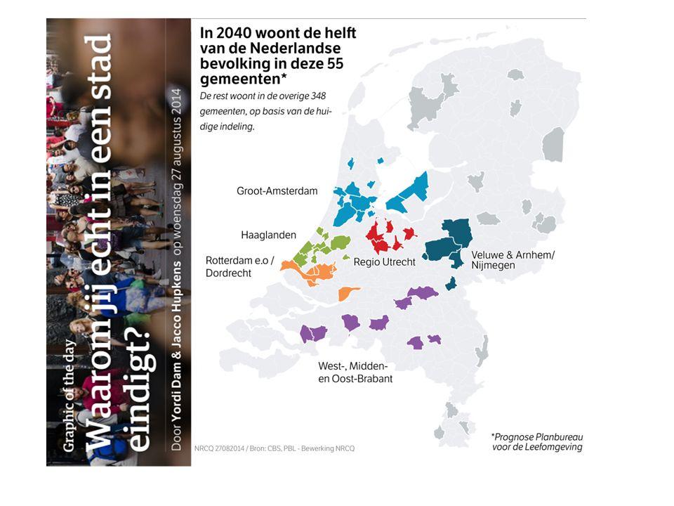 4 Vooral stedelijk, maar ook in krimpregio's regio's enorme opgave