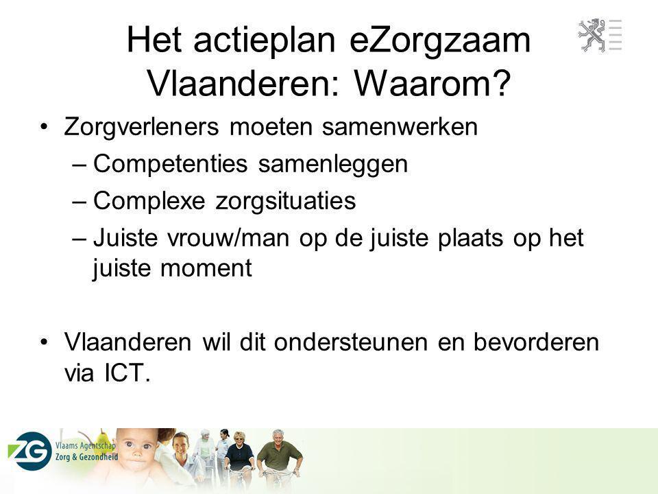 Het actieplan eZorgzaam Vlaanderen: Waarom