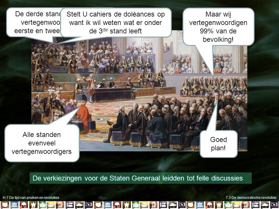 H 7 De tijd van pruiken en revoluties