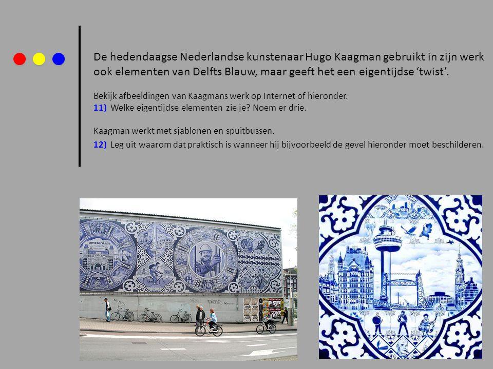 De hedendaagse Nederlandse kunstenaar Hugo Kaagman gebruikt in zijn werk