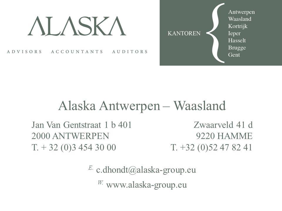 Alaska Antwerpen – Waasland