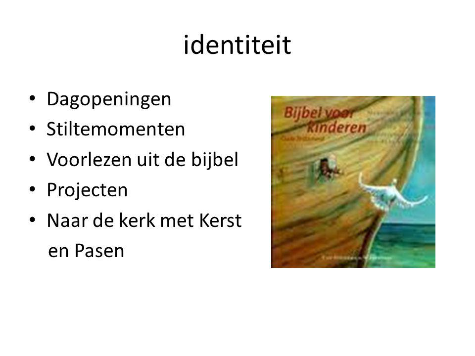 identiteit Dagopeningen Stiltemomenten Voorlezen uit de bijbel
