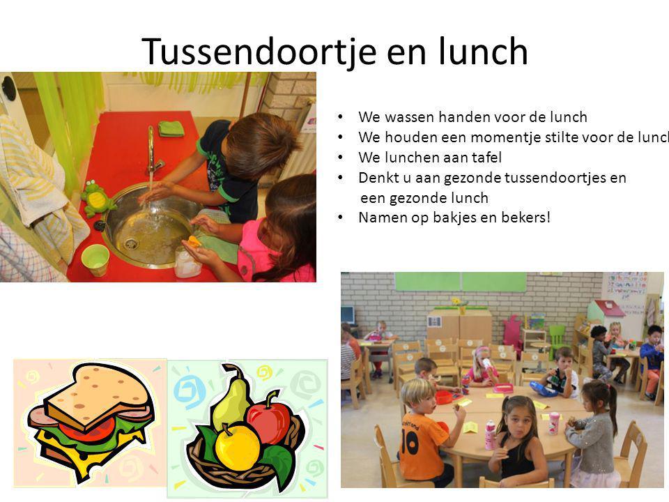 Tussendoortje en lunch