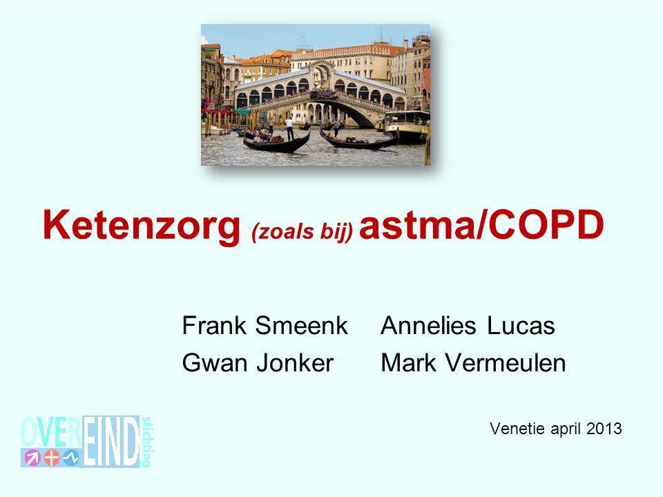 Ketenzorg (zoals bij) astma/COPD