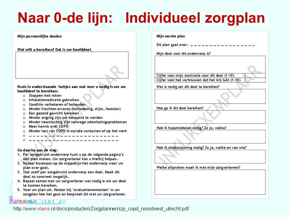 Naar 0-de lijn: Individueel zorgplan