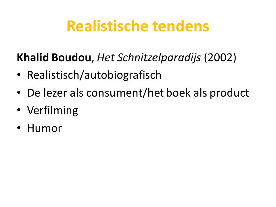 Realistische tendens Khalid Boudou, Het Schnitzelparadijs (2002)