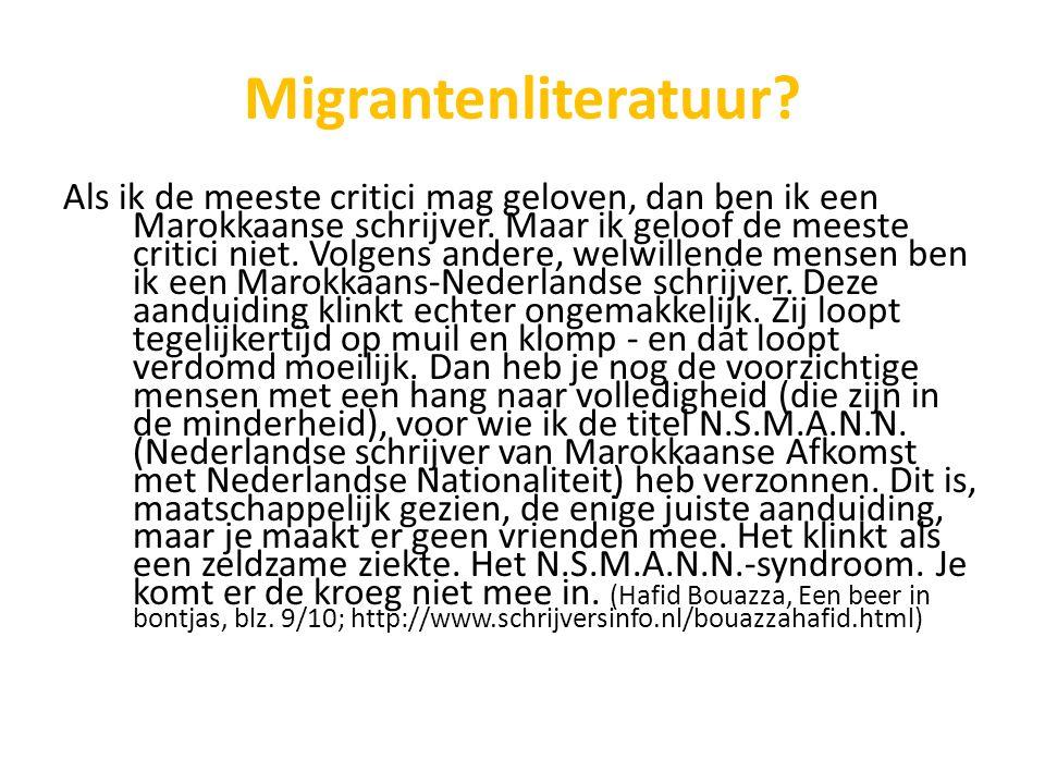 Migrantenliteratuur
