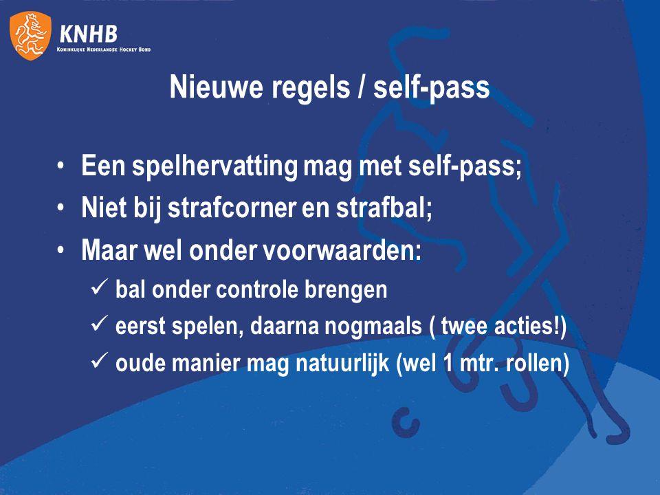 Nieuwe regels / self-pass