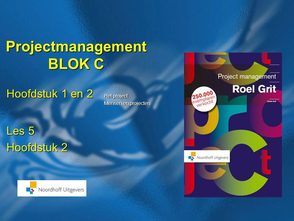 Projectmanagement BLOK C