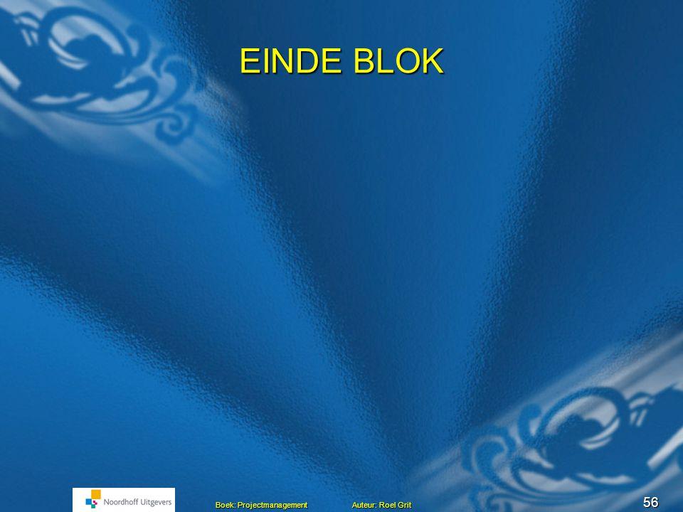 EINDE BLOK